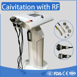 Ultrasonic Cavitation and RF weight lose Facial skin care machine