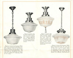 VTG 1920s GENERAL ELECTRIC COMMERCIAL LIGHTING FIXTURES BROCHURE PICS amp; PRICES