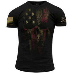Grunt Style American Reaper 2.0 T-Shirt - Black $19.76