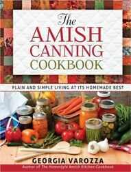 The Amish Canning Cookbook Spiral Bound Comb or Coil $13.47