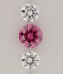 0.18ct!! AUSTRALIAN VIVID PURPLISH- PINK DIAMOND 100% UNTREATED +GIA CERTIFICATE