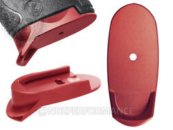 for Smith amp; Wesson Samp;W Shield Mag Floor Base Plate Long 9 40 Red Lasered Options $13.95