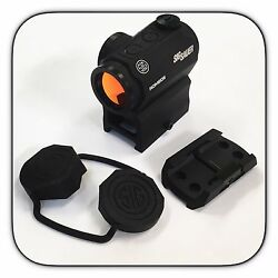 Sig Sauer Romeo 5 1x20mm 2 MOA Red Dot Sight w Mounts SOR52001 $130.99