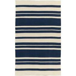 Surya PIC4007-811 Picnic 8'x11' Polypro. Hand Woven Stripes Outdoor Rug