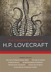 The Complete Fiction of H. P. Lovecraft by H.P. Lovecraft (English) Hardcover Bo