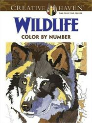 Creative Haven Wildlife Color by Number Coloring Book (Paperback or Softback)