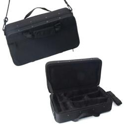 Professional Musicians Lightweight Square Messenger Case Bag for Clarinet Black $17.56