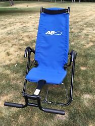 Ab Lounge 2 Lounger Fitness Exercise Abdominal Abs Workout Chair