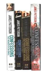4 book lot Confessions series Confessions of a Murder Suspect 2 HC 2 PB First Ed
