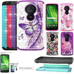 Phone Case For Tracfone Moto E5 XT1920DL G6 Forge ShockProof Crystal Cover $8.98