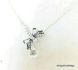 NEWTAGS AUTHENTIC PANDORA NECKLACE   DREAMY DRAGONFLY #397104CZ-65 RETIRED