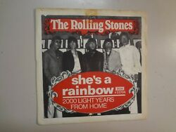 ROLLING STONES:She's A Rainbow-2000 Light Years From Home-Sweden 7