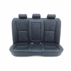 seat bench Mercedes S-Class W221 201A LEATHER - BLACK  ANTHRACITE