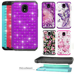 Phone Case for Samsung Galaxy J7 Crown S767VL Dual Layered Crystal Cover $8.98