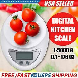 New Digital Kitchen Food Cooking Scale Weigh in Pounds Grams Ounces and KG $8.99