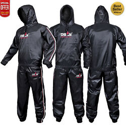 Heavy Duty DEFY Sauna Sweat Suit Exercise Gym Suit Fitness Weight Loss Anti-Rip $29.99