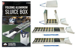 SE 50quot; Folding Aluminum Sluice Box $88.99