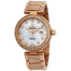 Omega De Ville Ladymatic Automatic Mother of Pearl Dial Ladies Watch