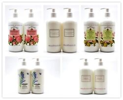 Crabtree & Evelyn Body Lotion Brand New 16.9 oz  2 Pack ( Pick From 5 Scents )