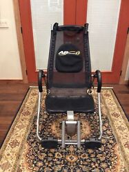 AB LOUNGE XL ABDOMINAL CORE FITNESS WORKOUT EXERCISE CHAIR