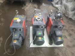 Edwards  E2M40 Two Stage Rotary Vane  Pump A36401960 Used