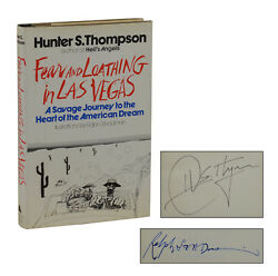 SIGNED Fear and Loathing in Las Vegas ~ HUNTER S THOMPSON First Edition 1971 1st