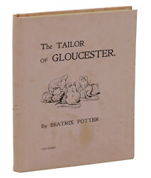 The Tailor of Gloucester BEATRIX POTTER First Edition 1902 1st Privately Printed