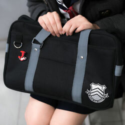 Persona 5 P5 Shujin Gakuen Real High School Bag Anime Uniform Shoulder Bags USA