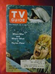 Chicago August 28 TV GUIDE 1965 LUCY Lucille Ball Peyton Place Jack Benny