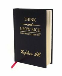 Think and Grow Rich Hardcover by Hill Napoleon Brand New Free shipping in... $18.04