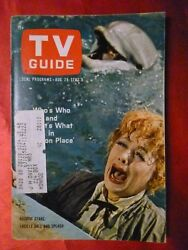 North Carolina August 28 TV GUIDE 1965 LUCY Lucille Ball Peyton Place Jack Benny