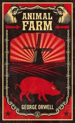 Animal Farm Paperback by Orwell George Like New Used Free shipping in the US