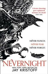Nevernight Paperback by Kristoff Jay Like New Used Free shipping in the US