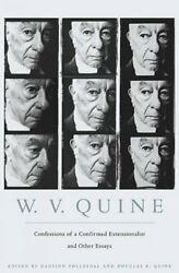Confessions of a Confirmed Extensionalist and Other Essays Hardcover by Quin...