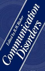 Communication Disorders Hardcover by Rieber ISBN 030640527X ISBN-13 978030...