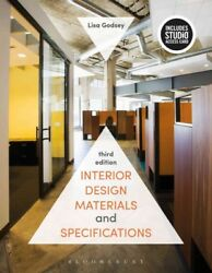 Interior Design Materials and Specifications Paperback by Godsey Lisa ISBN...