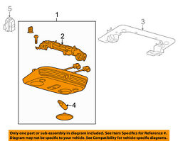 FORD OEM 13-14 Mustang-Overhead Roof Console DR3Z76519A70AA