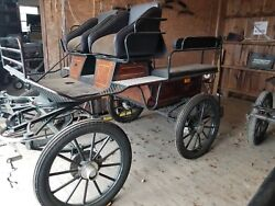 Pojkon Recreational Driving Carriage Horse Carriage Imported