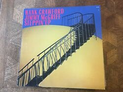 JIMMY McGRIFF & Hank Crawford - Steppin' Up ~ MILESTONE 9153 {nm promo} -NICE