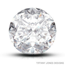 7.09ct E-VVS1 Ex-Cut Round Brilliant GIA 100% Natural Diamond 12.27x12.34x7.68mm