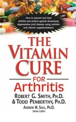 The Vitamin Cure for Arthritis (Paperback or Softback)
