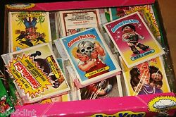 1986 GARBAGE PAIL KIDS 4TH SERIES (1) SEALED RACK PACK 24 STICKER CARDS MINT GPK $24.97