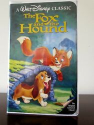 DISNEY'S THE FOX AND THE HOUND - Black Diamond - Rare VHS ISBN: 1-55890-135-3