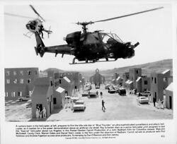 Blue Thunder original 1982 8x10 photo helicopter camera team film Blue Thunder $24.99