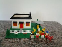 Lego Custom House with custom Fireplace Figurines & Much more