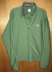 The North Face Jacket Flight Series TKA Stretch Men's Green Soft Shell - Size L