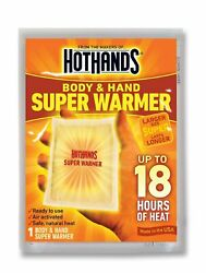 HotHands Body & Hand Super Warmer New Super Size Package 20 count $19.99