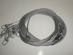Funke Trap Tags 96quot; 1 8 Hog Wolf Alligator Loaded Snares Coyote Beaver Cam Lock $22.95