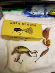 Vintage Lure-Arbogast Hula Dancer 1 12