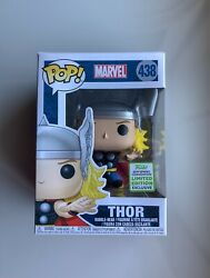 IN-HAND Funko Pop! 2019 ECCC Exclusive Marvel THOR #348